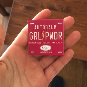 Grlpwdr blush auto balm by the balm cosmetics